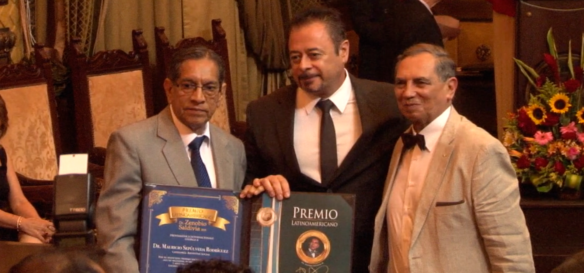 Dr. Mauricio Sepulveda es Premiado